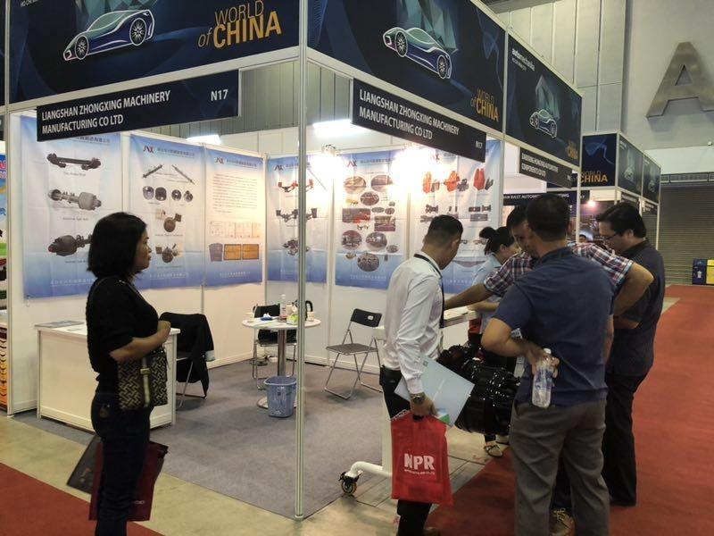Vietnam Fair Automechanika_ZonXin Machinery Manufacturing Co , Ltd